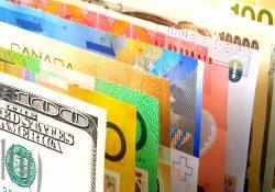 різні валюти